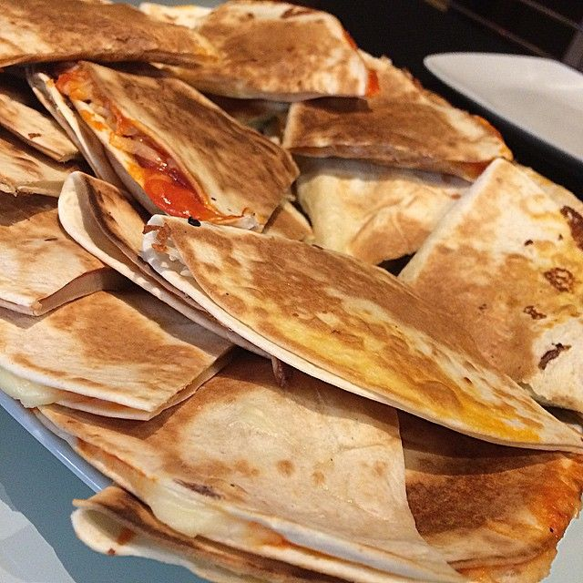 "Quesadillas de pavo ""fit"""