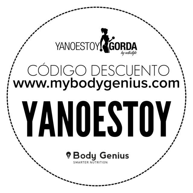 Código descuento en mybodygenius.com - YANOESTOYGORDA
