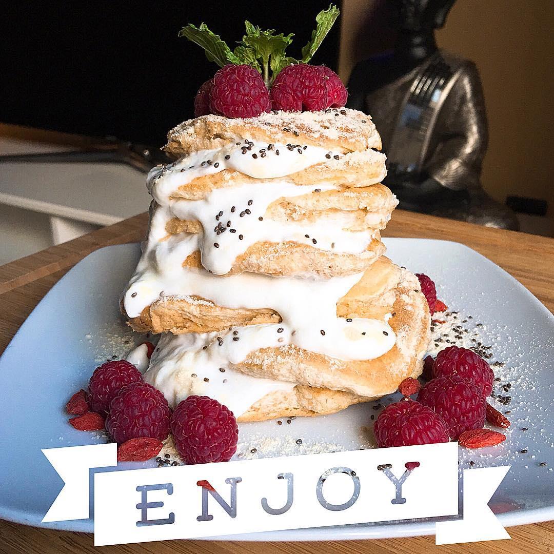 Esponjosas tortitas de avena - YANOESTOYGORDA by netastyle