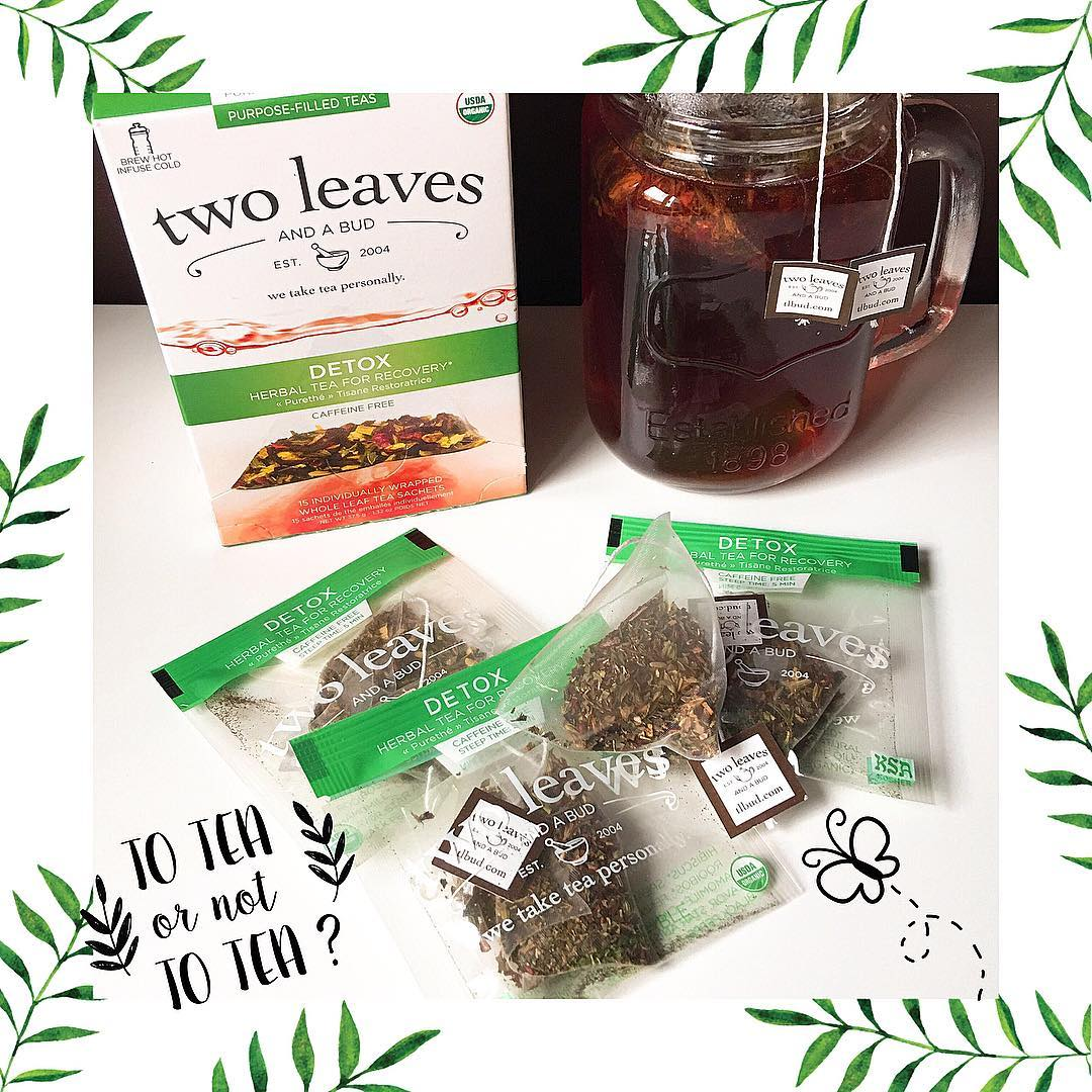 Nuevo té detox de Two Leaves