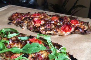 RECETA FITNESS: Pizzaburguesa de ternera