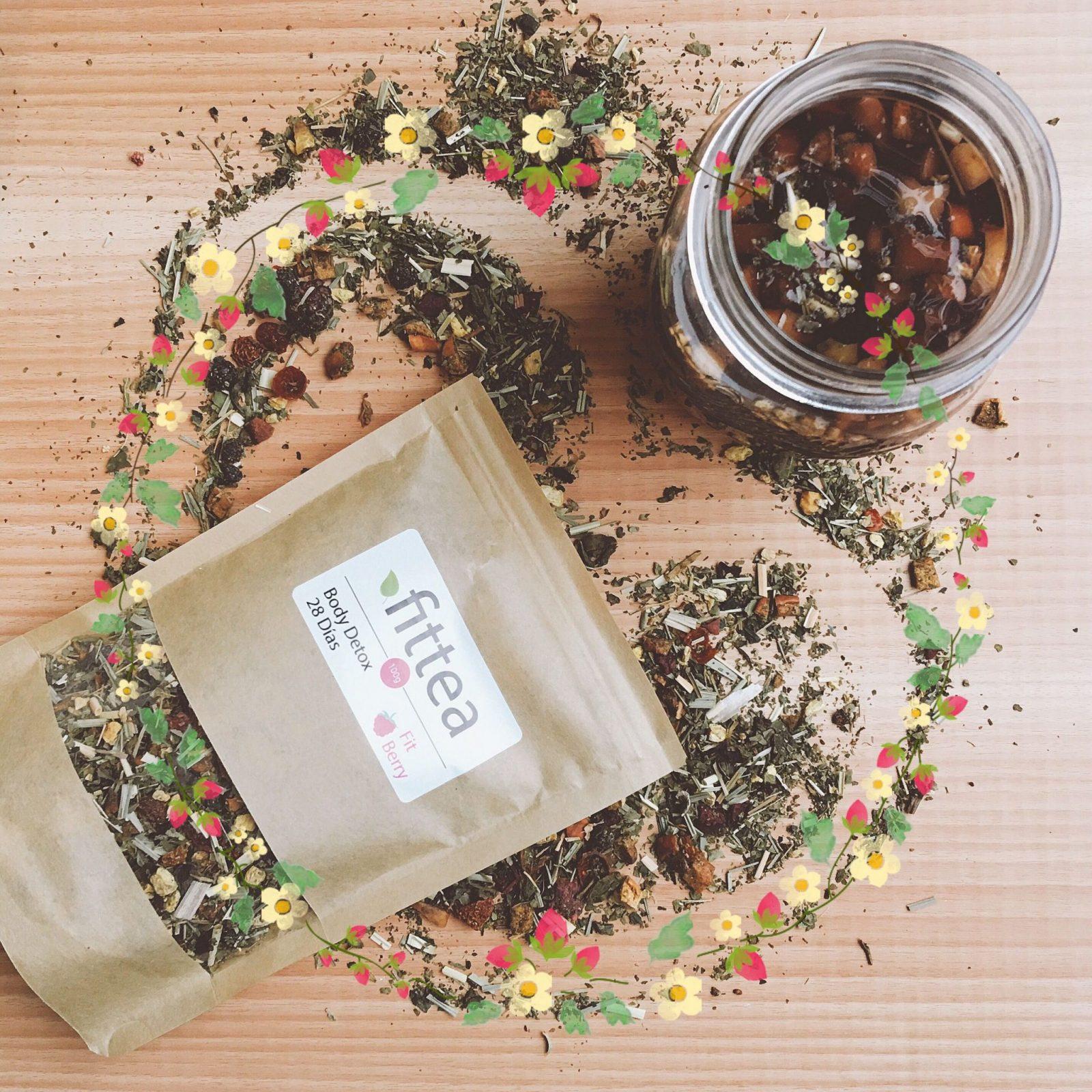 Mi experiencia con el Fit Berry Detox tea 28 días de fittea