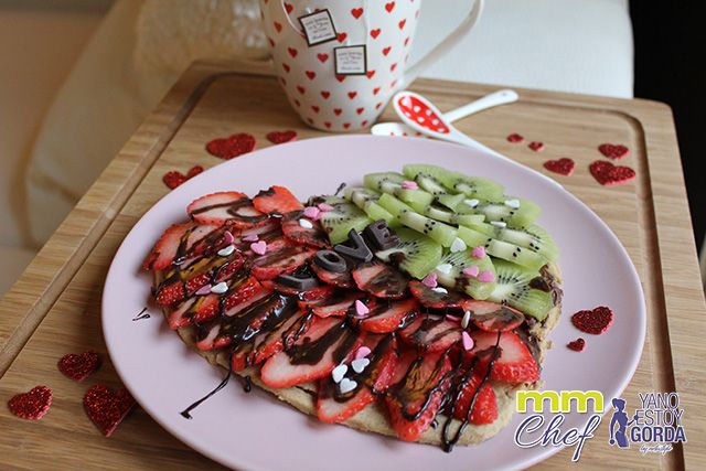 Sweetzza fitness (Pizza dulce)