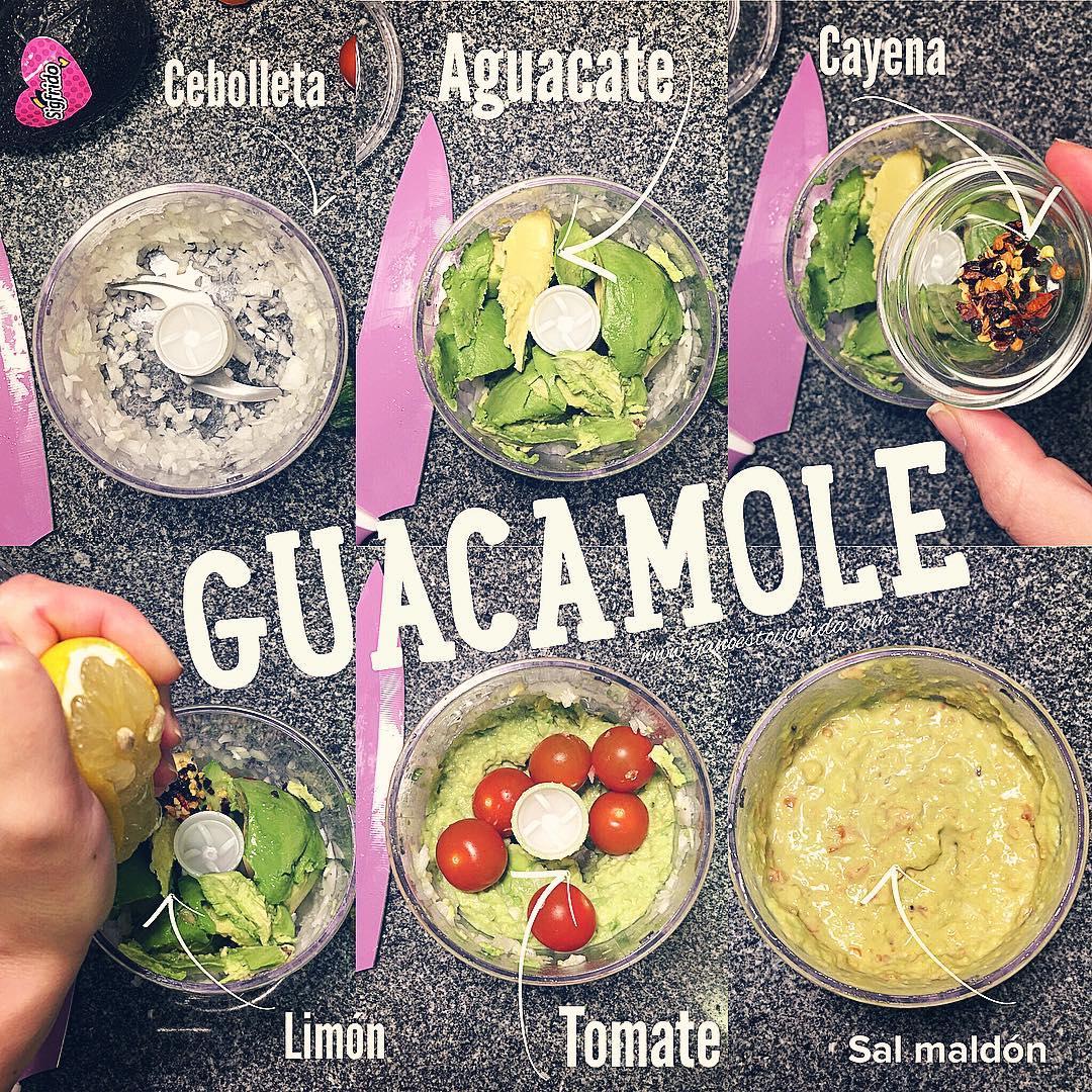 Guacamole paso a paso