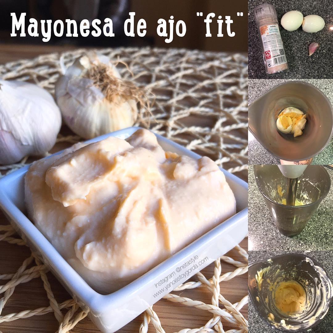 Mayonesa de ajo (allioli sin aceite)