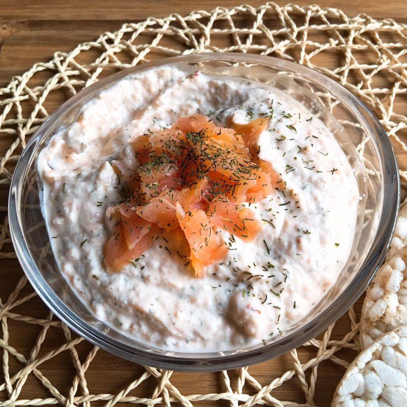 Paté de salmón fit
