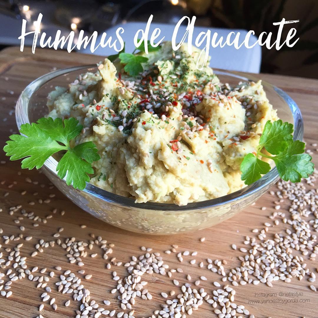 Hummus de aguacate