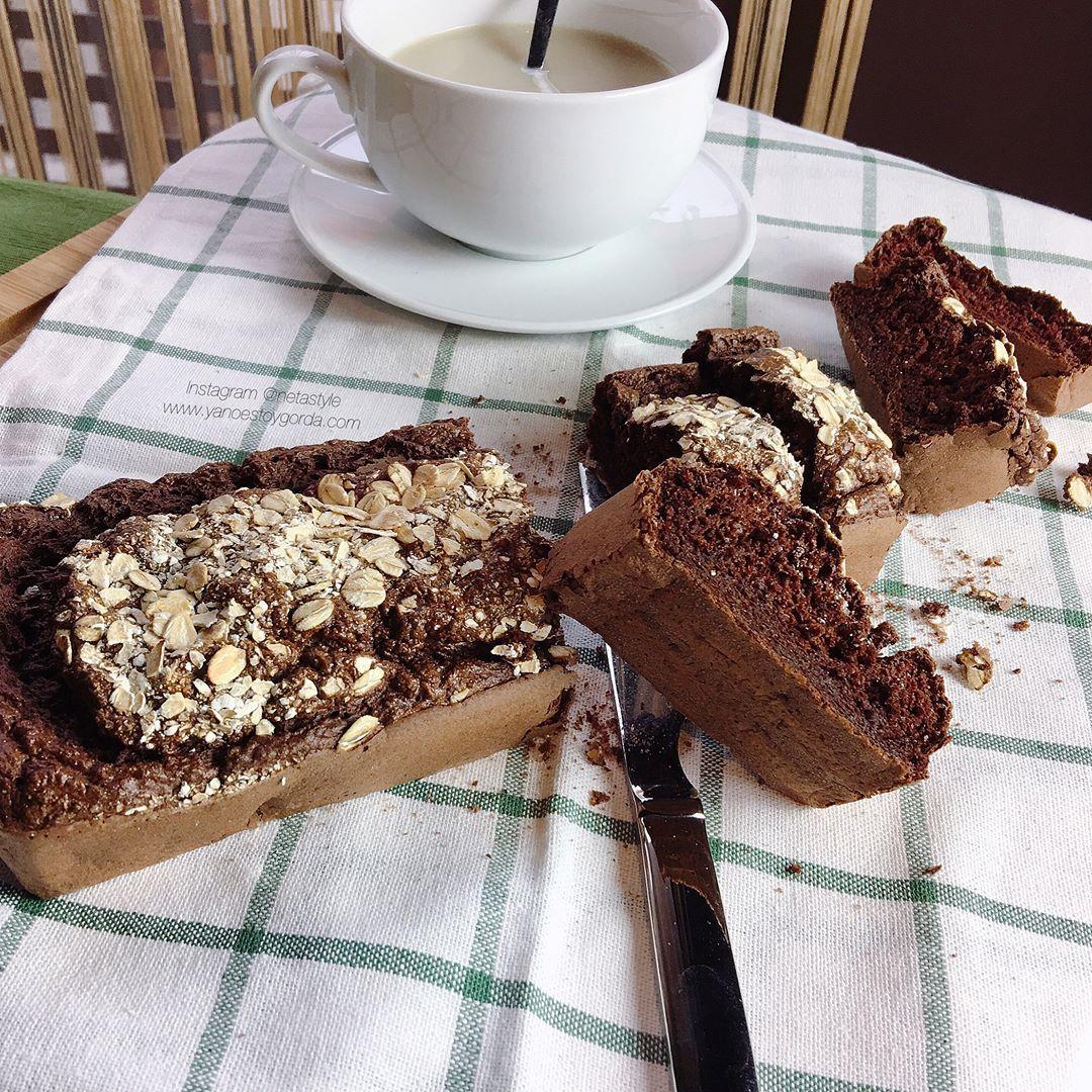 Fitcocho de avena integral con cacao