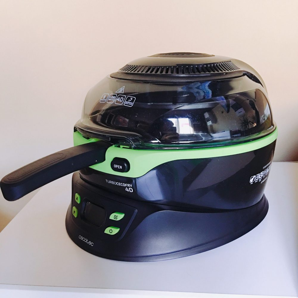 Todo sobre la freidora dietética Turbo Cecofry 4D