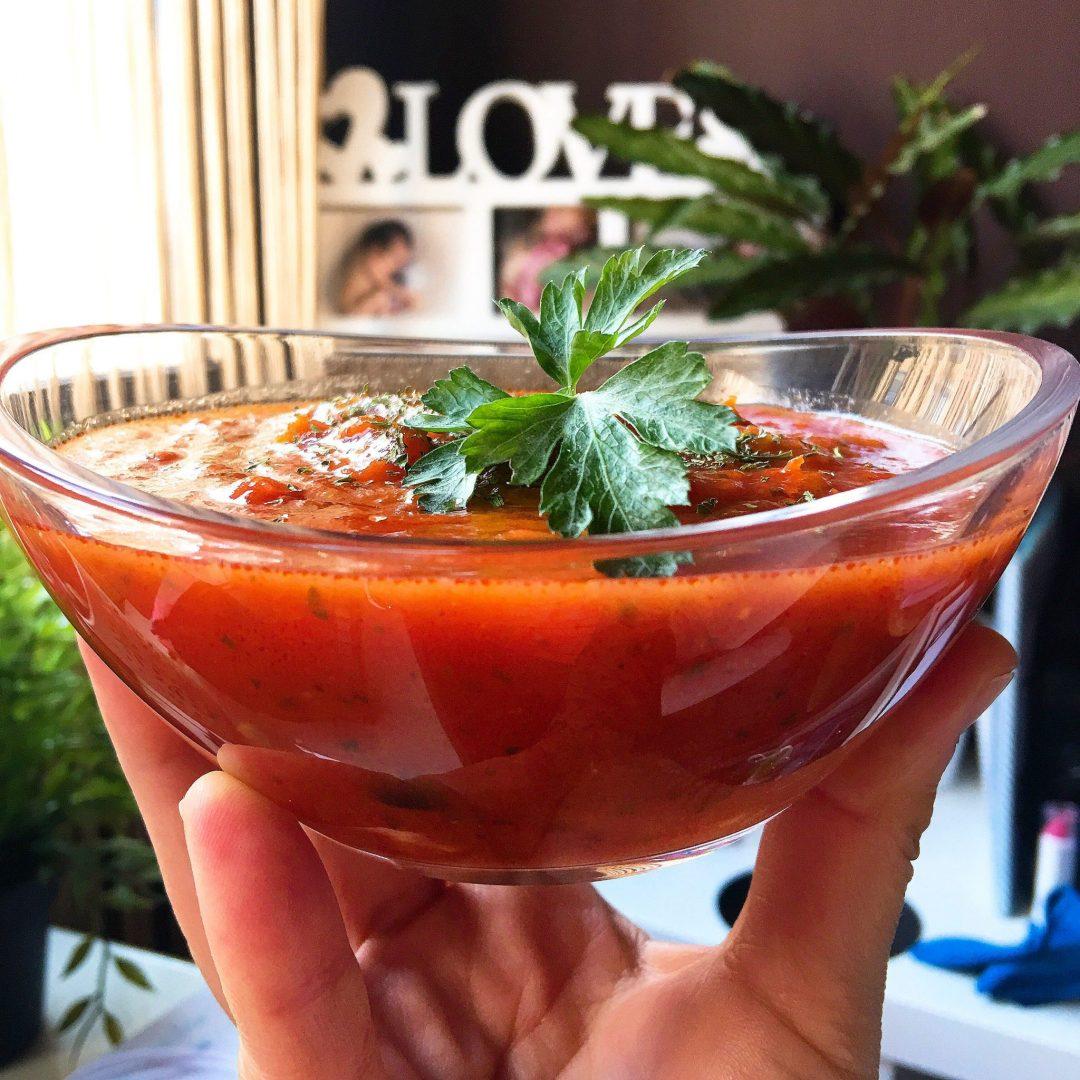 """Salsa de tomate """"fit"""" con aceitunas"""