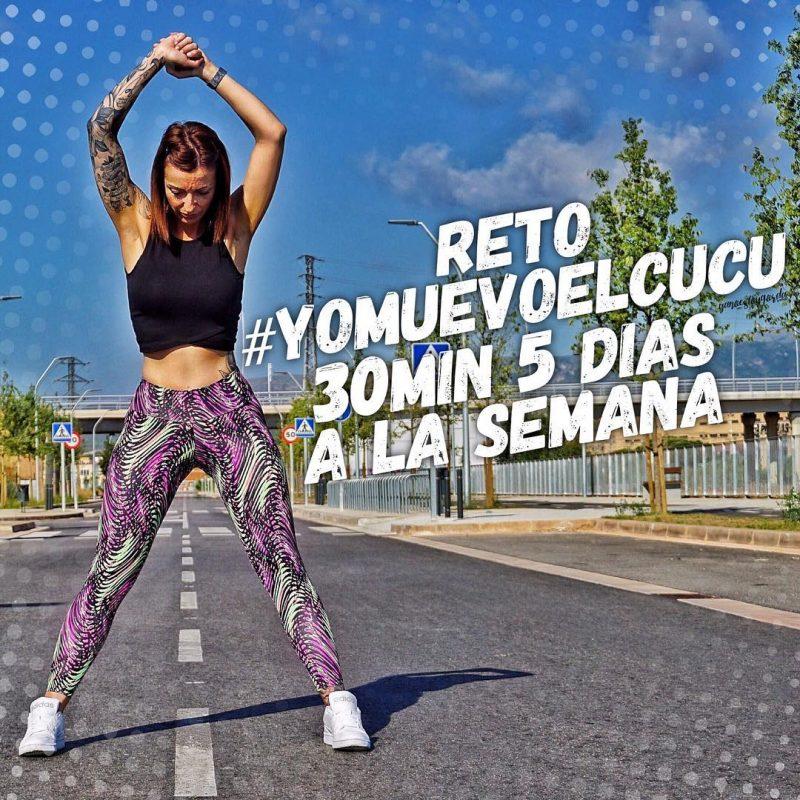 Reto #yomuevoelcucu 30min 5 días a la semana
