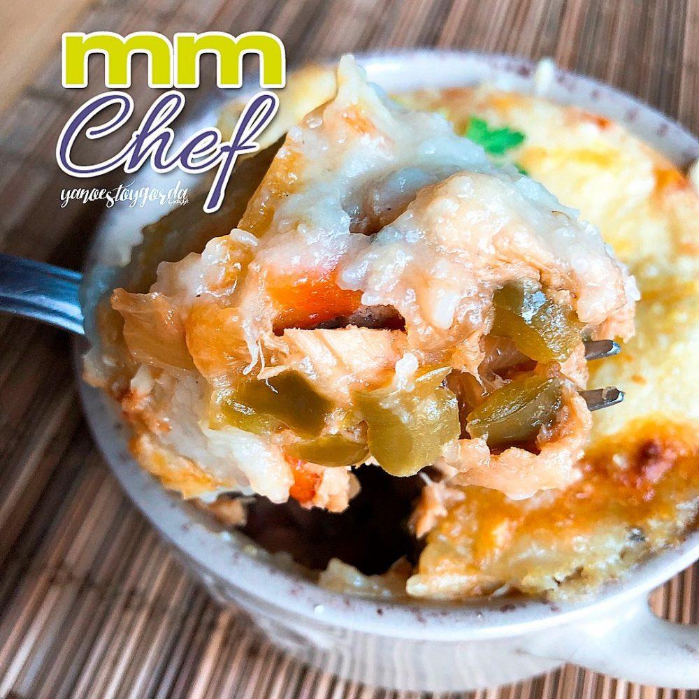 Pastel de patata y atún saludable