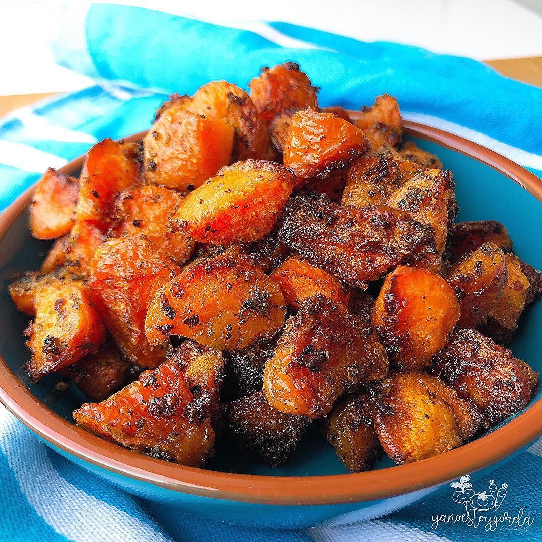 Bravas de zanahoria