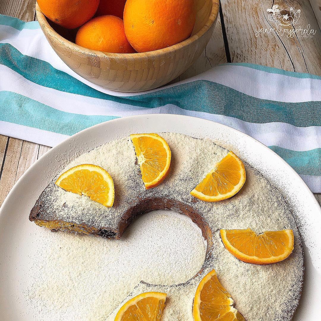 Torta de naranja (sin gluten)