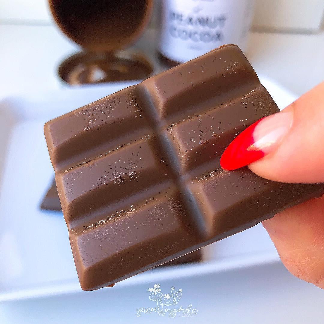 Chocolatinas saludables sabor conguitos