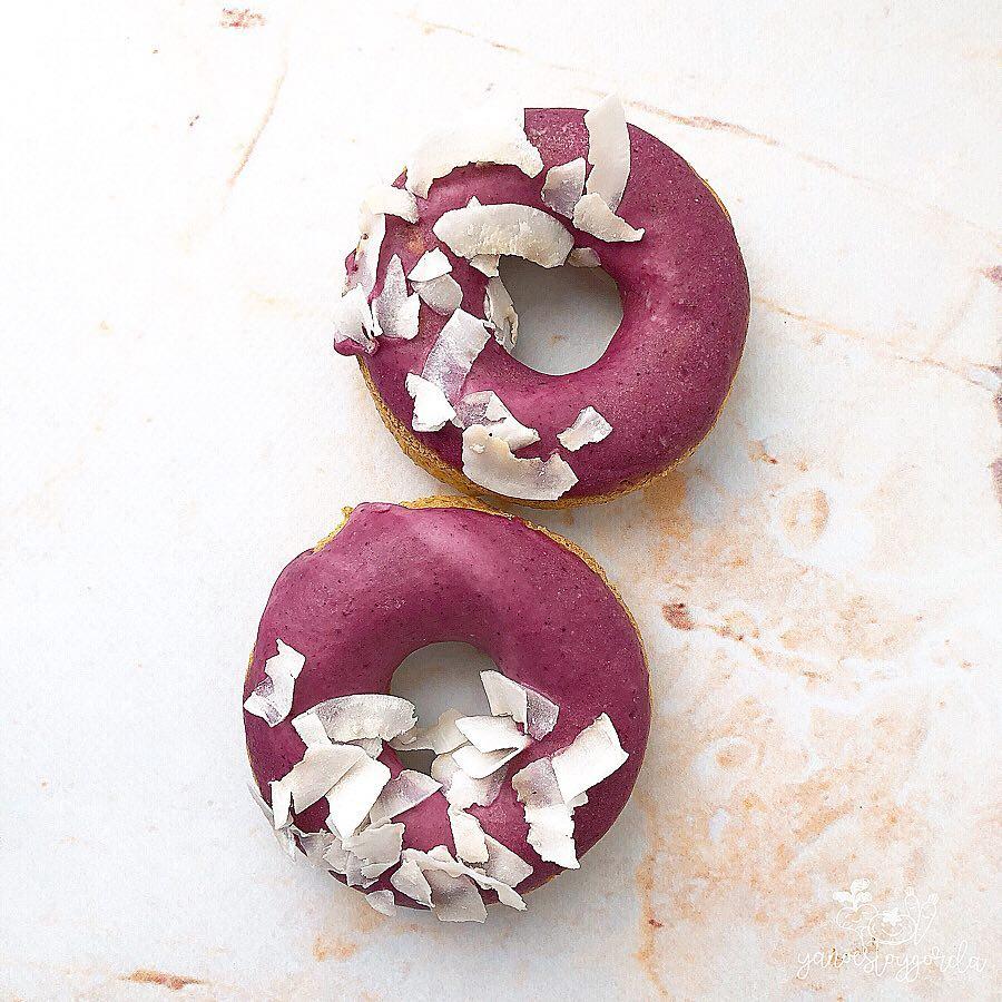 Donuts saludables veganos