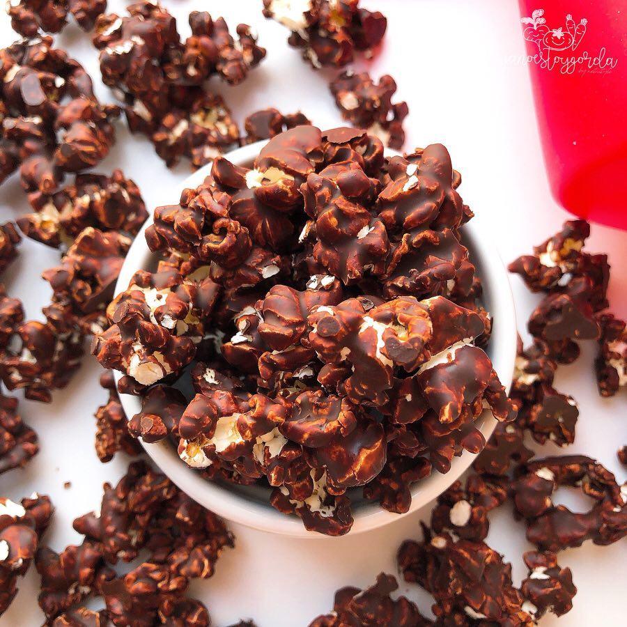 PALOMITAS CON CHOCOLATE