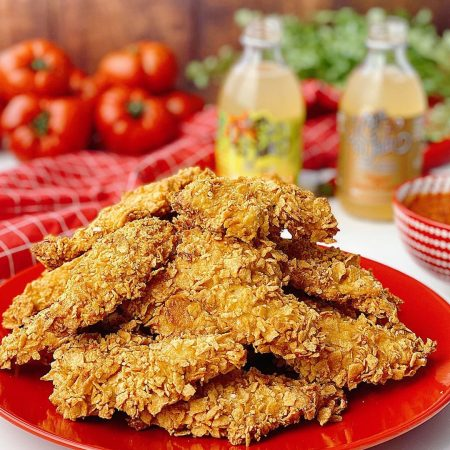 NUGGETS DE POLLO CRUJIENTES Y SALUDABLES