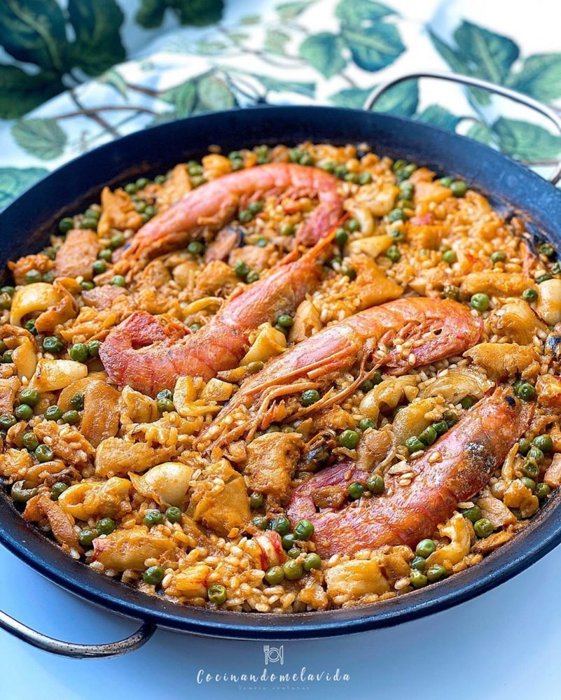ARROZ CON FRUTOS DEL MAR