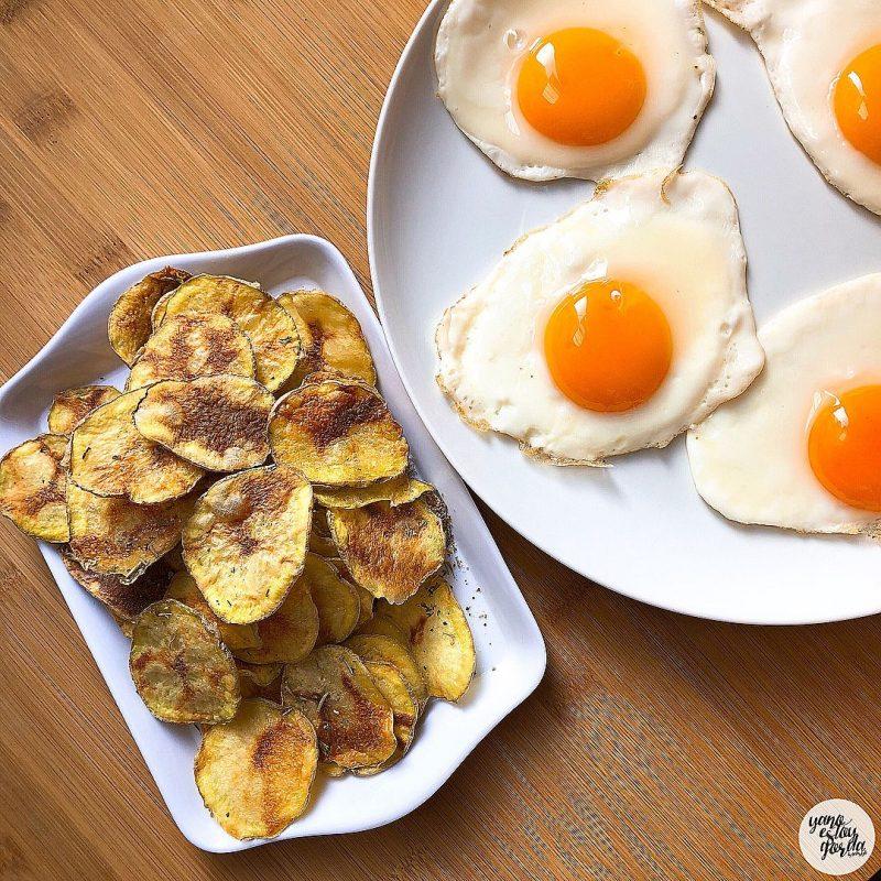 Patatas NO-FRITAS (al microondas)