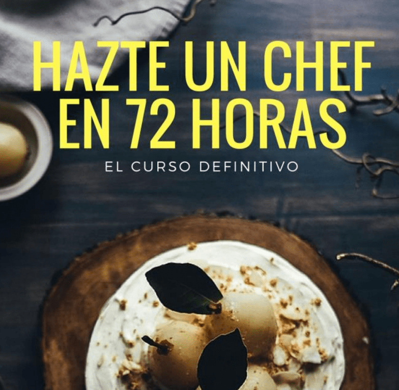 35 Cursos/Ebooks de gastronomía a un precio de risa