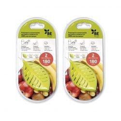 Frutas y verduras frescas más tiempo